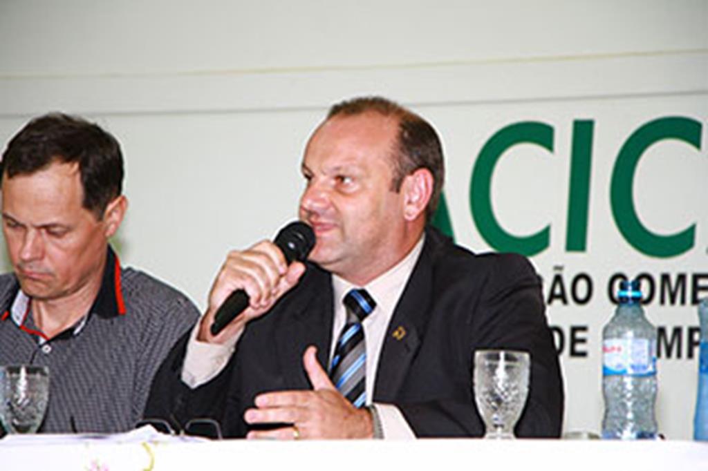 Secretário Adjunto de Segurança Pública de Mato Grosso, coronel Marcos Hübner