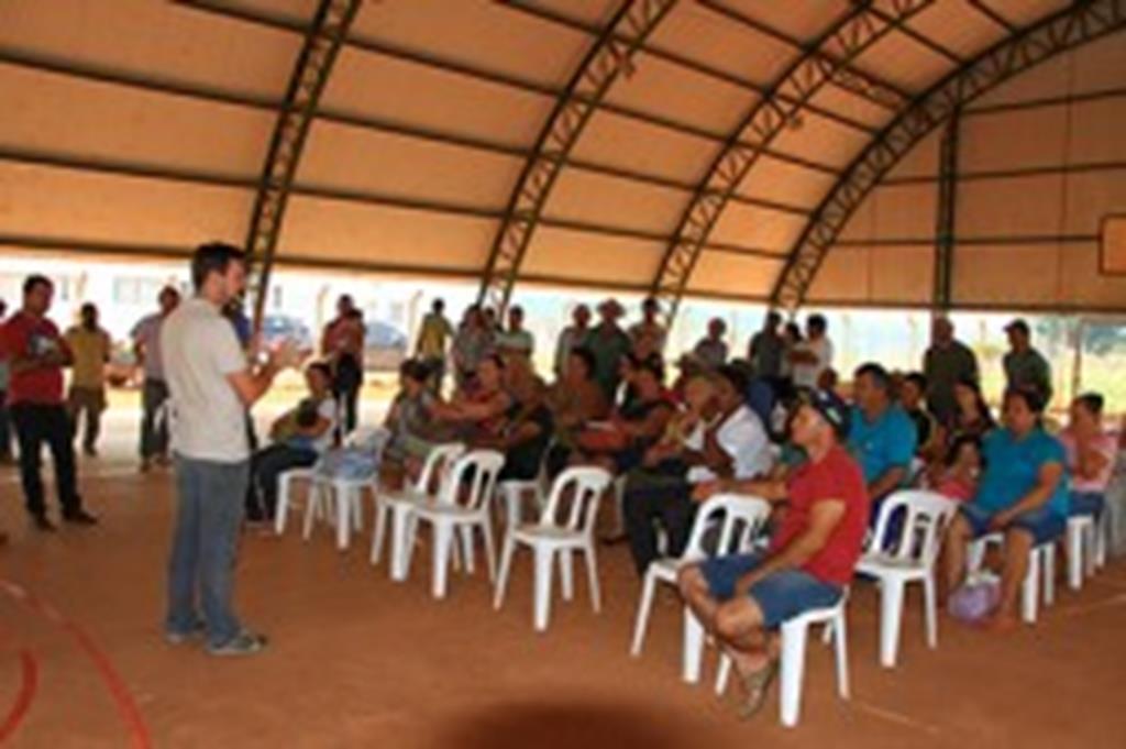 INCRA e SEDAM realizam reunião com assentados sobre PRONAF
