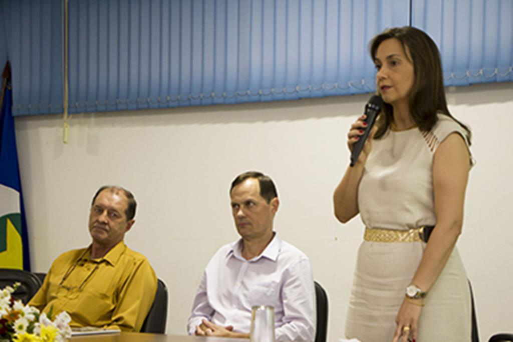 Andréa Schroeter, secretária municipal de Educação e Cultura