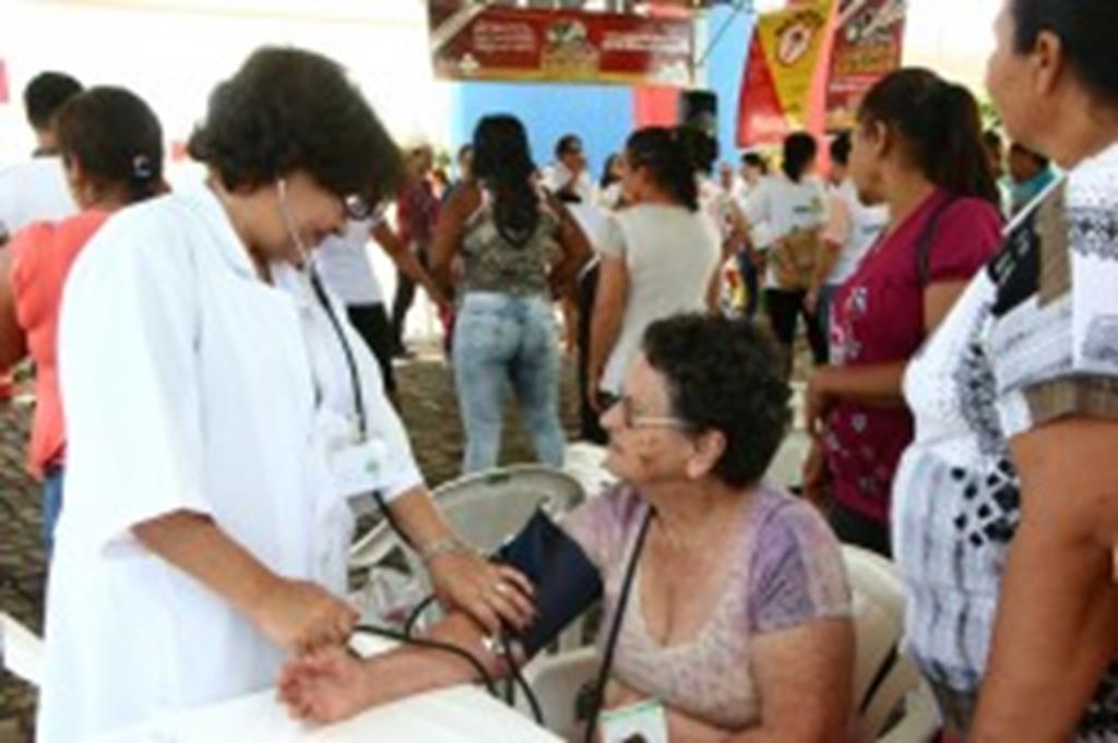 Dia Mundial da Saúde foi comemorado com ações Praça João Paulo II