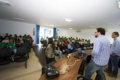 Agentes de saúde e ambientais participam de palestra sobre saneamento