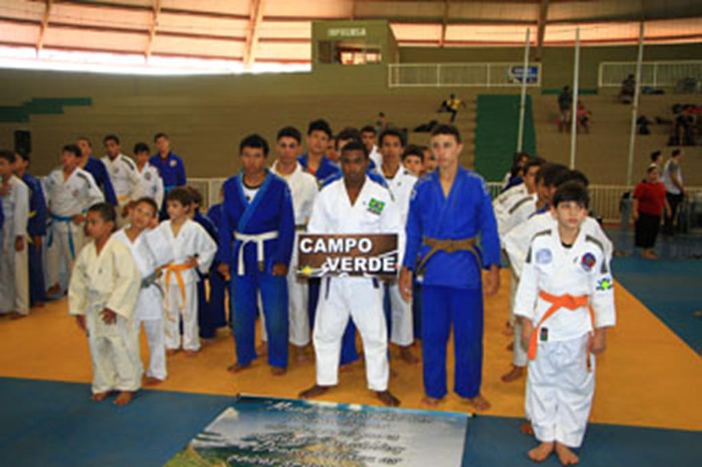 A equipe de Campo Verde conquistou 28 medalhas de ouro