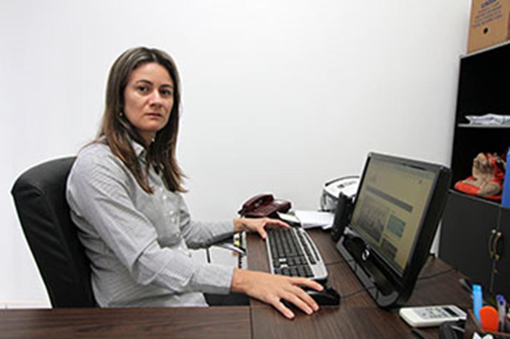 Sandra Badoco, secretária de Fazenda de Campo Verde